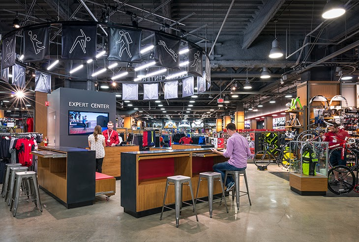 Sporting Goods Shop Interior Stock Photos and Images
