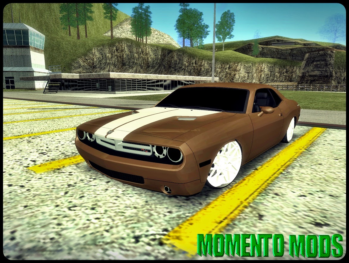 GTA SA - Dodge Challenger Socado Com Rotiform Fixa