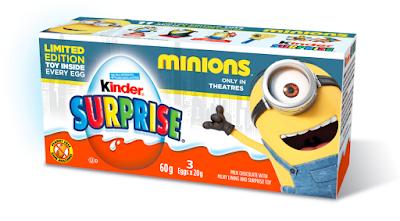 Minion KINDER SURPRISE Minion 3-pack