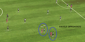 FM14 Shouts Hassle opponents