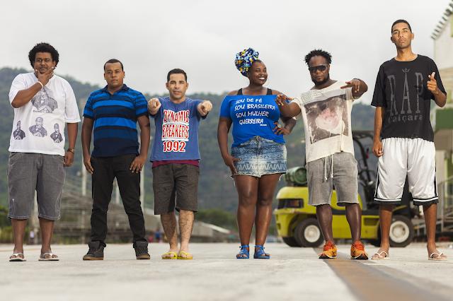 Hip Hop terá tarde cultural em quatro tendas da orla em Santos.