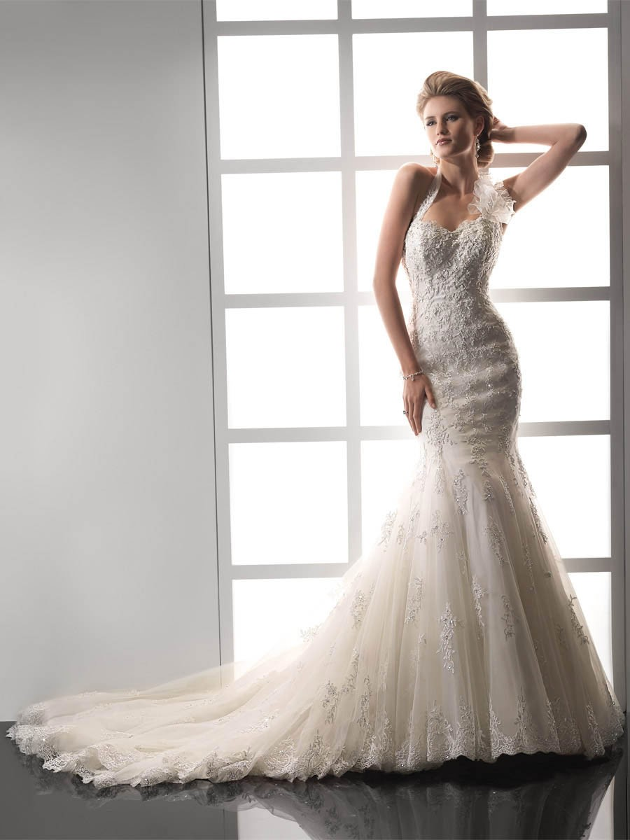 Wedding dresses for Vintage lace mermaid wedding dresses