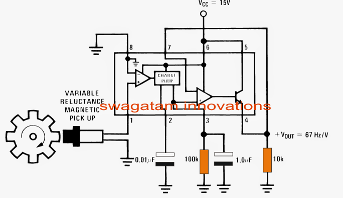 Simple Accurate    Speedometer    Circuit   Circuit    Diagram    Centre