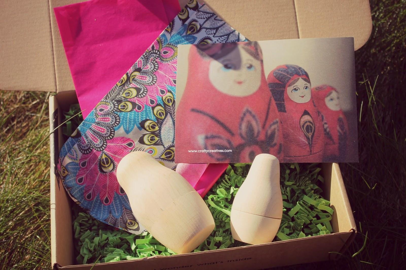 decoupage russian dolls