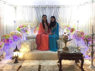 EKSKLUSIF!!! Majlis Malam Berinai Marsha Dengan Tema Kampung Style Ini Memang Sempoi GILERR (10 Foto)