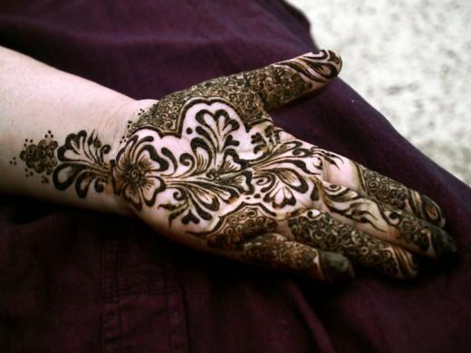 Muslim Mehndi Patterns : Peartreedesigns muslims eid beautiful mehndi designs