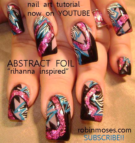 """robin moses nail art """"diva nails"""""""