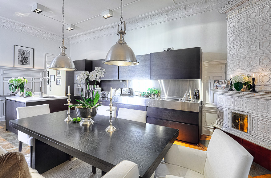 Home styling ana antunes magnificent houses casas for Magnificent kitchens