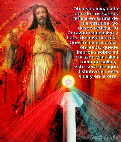 oracion para pedir ser como el corazon sagrado de jesus
