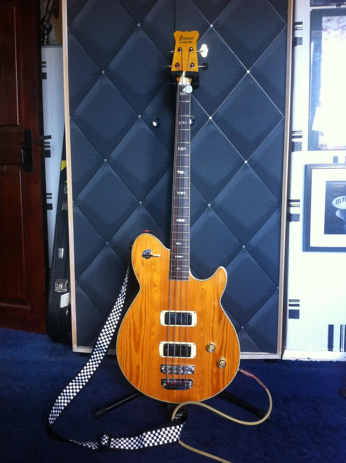Framus Nashville deluxe Bass Guitar