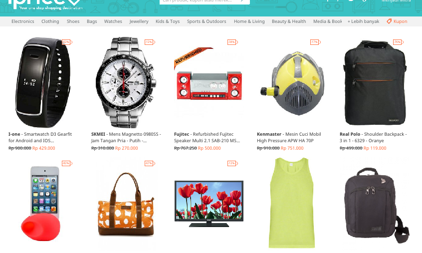 smart shopping with iprice