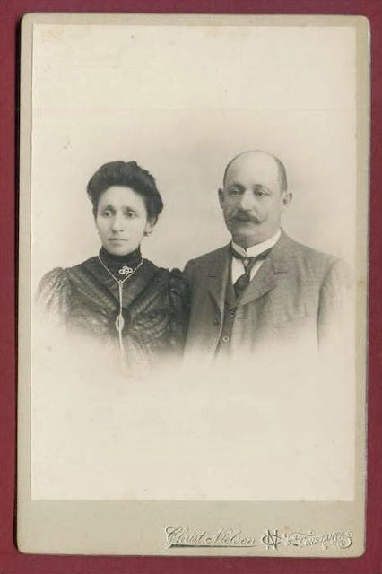 Portret de epoca - sot si sotie