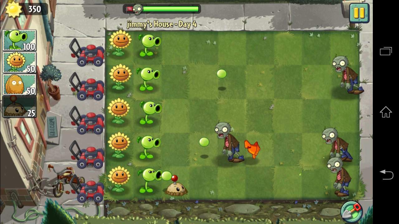 Andro Game Store: Plants Vs. Zombies 2 (English Version)
