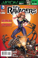 The Ravagers #9 Covers