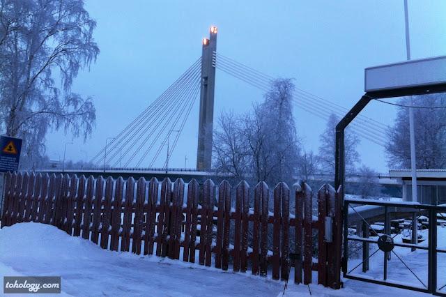 Rovaniemi bridge