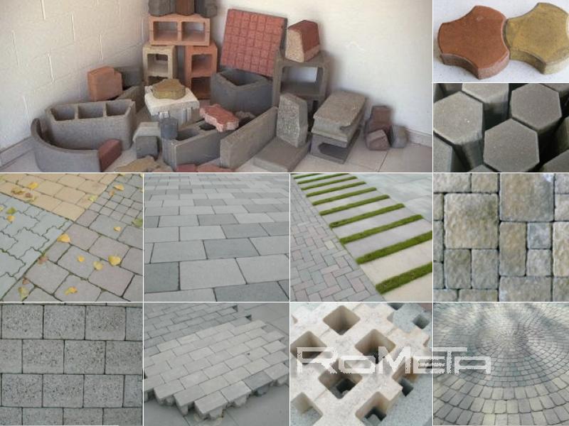 Concrete block machines about us for Adoquines de cemento