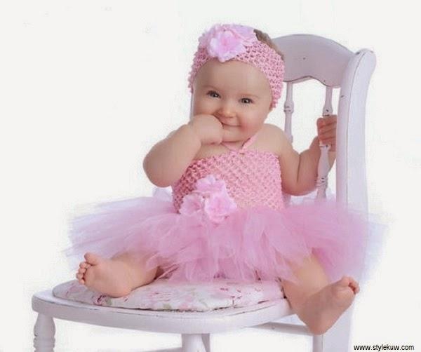 Les plus belles photos de bébés filles mignons