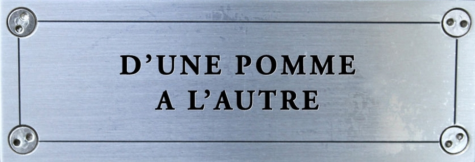D&#39;une pomme  l&#39;autre - NYC
