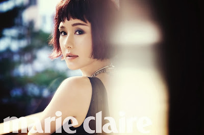 Kim Ji Soo - Marie Claire Magazine December Issue 2013