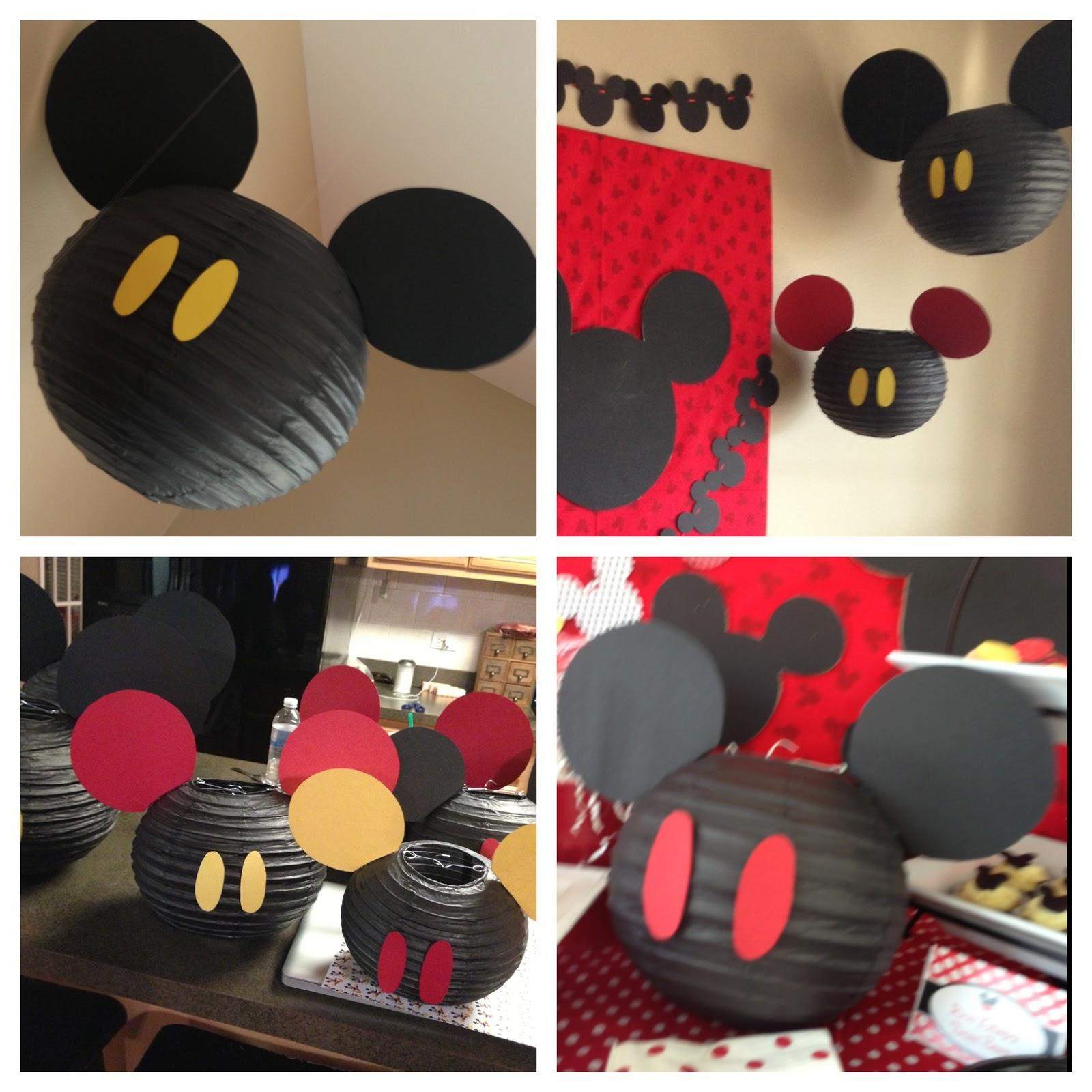NatalieKMudd Mickey Mouse Party