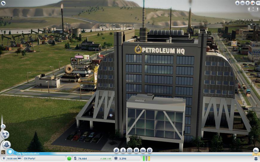 Нефтяной завод Petroleum HQ