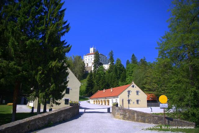 Замок Тракошчан (Хорватия) и прилегающие территории