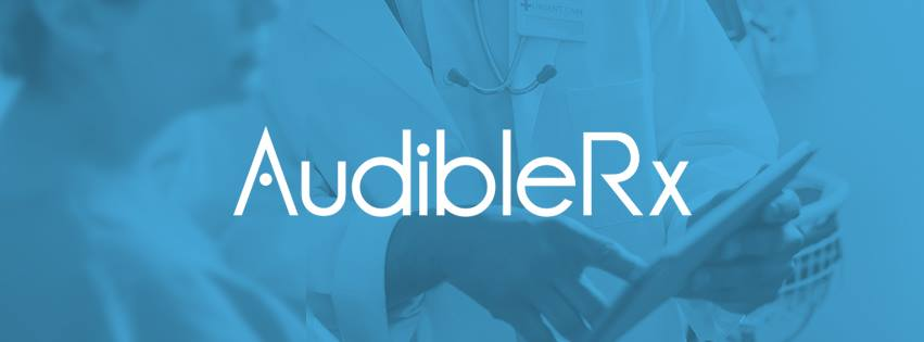 AudibleRx, Medication information you listen to.