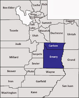 Carbon and Emery counties