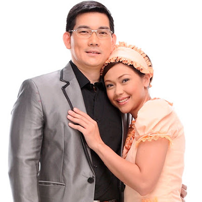 Jodi Sta Maria and Richard 'Papa Chen' Yap in Be Careful With My Heart