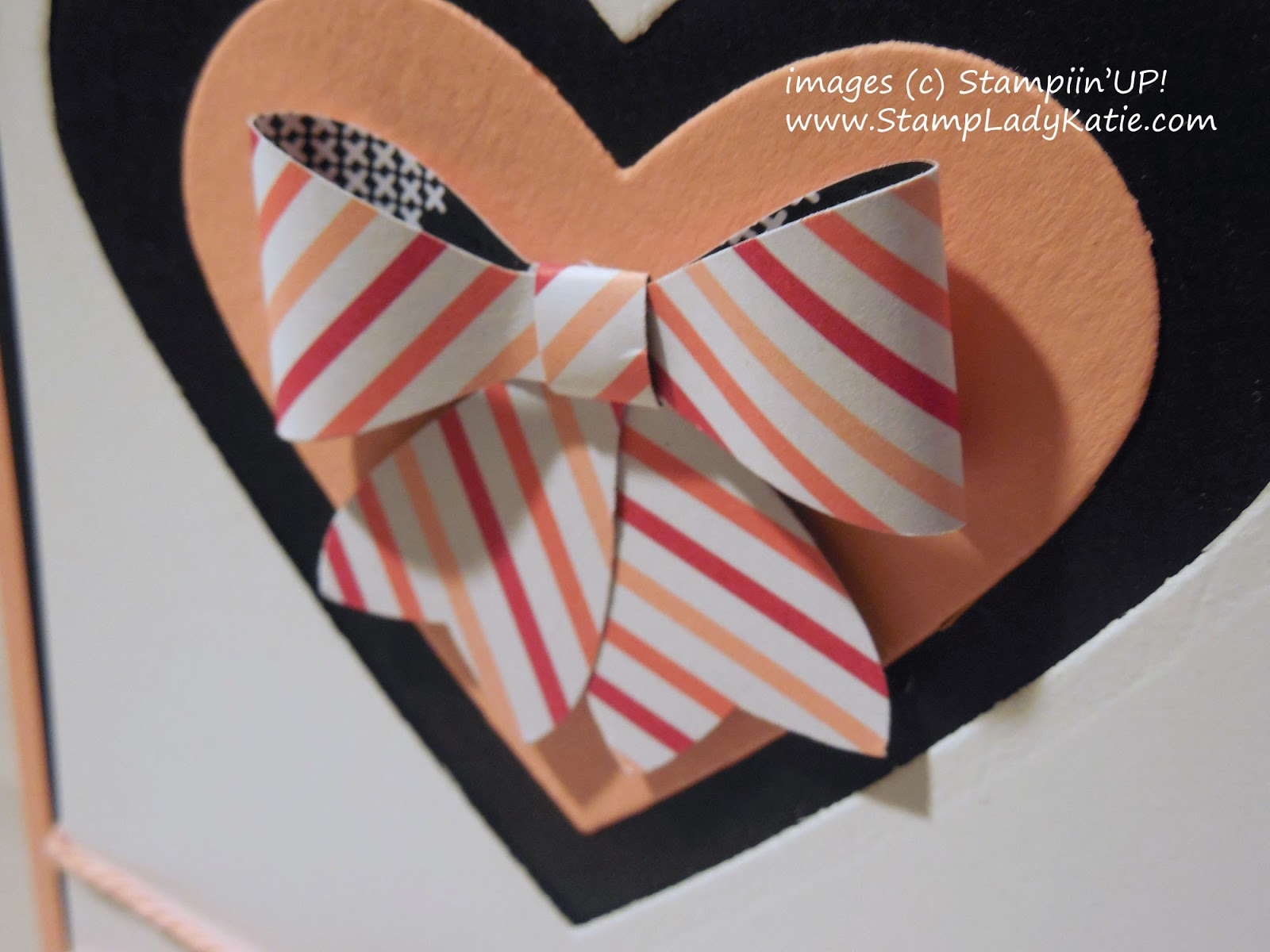 Bow made with Stampin'UP!'s Bow Builder Punch