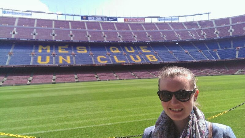 nou camp tour barcelona april