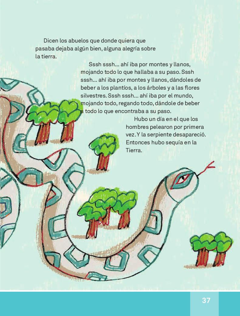 Leyenda de los temblores - Español Lecturas 3ro 2014-2015