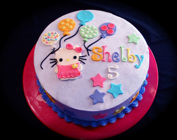 Hello Kitty Cake Girls Birthday 5