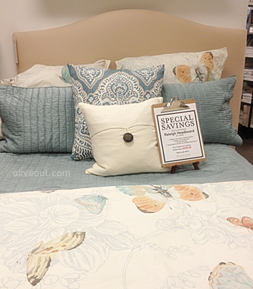 Olive Out: Pottery Barn Outlet Spring 2013