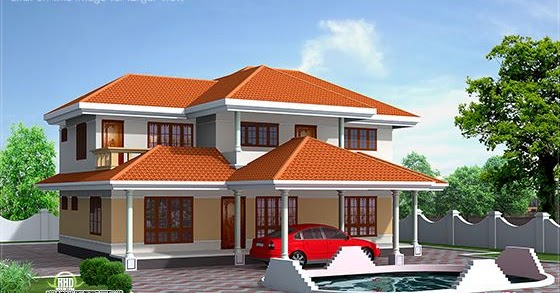 3200 luxury house plan elevation keralahousedesigns for 3200 sq ft house plans