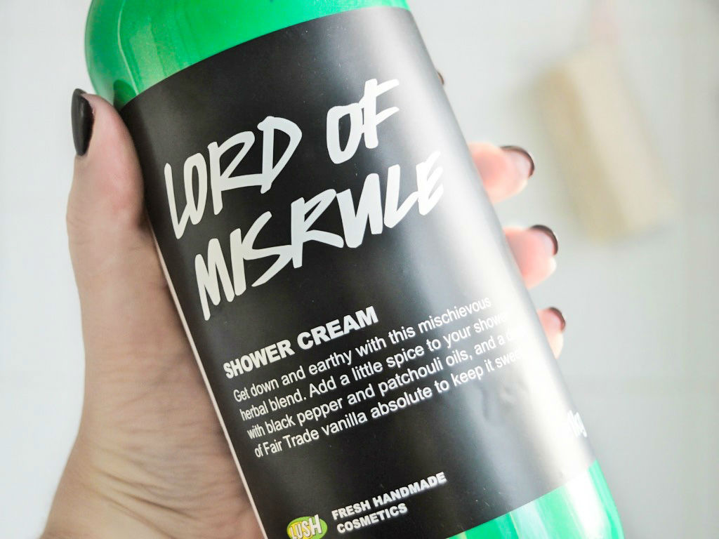 LUSH Lord of Misrule Shower Gel