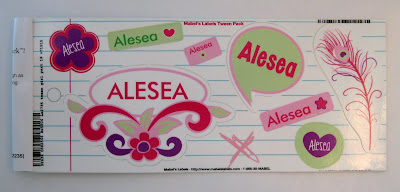 Personalized, Mabel's Labels, Sticky, Organizational Label, School