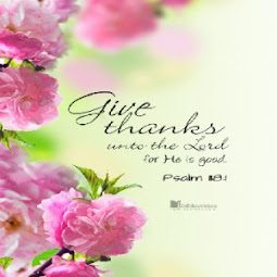 For God's provision...we give thanks.