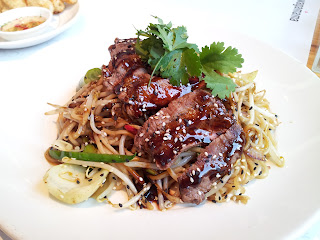 Wagamama, Japanese cuisine, beef teriyaki soba