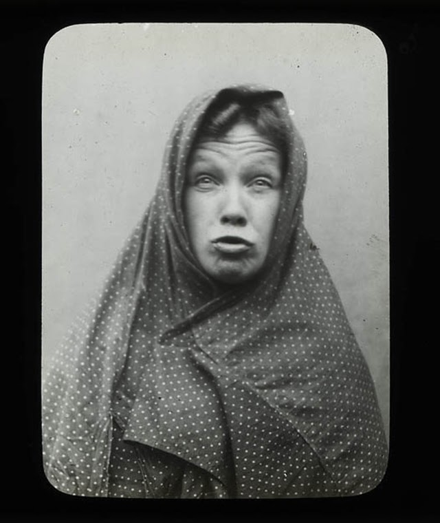 Humorous Victorian S Pulling Faces Vintage Everyday