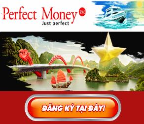 Đăng Ký &  Xác Thực Perfect Money