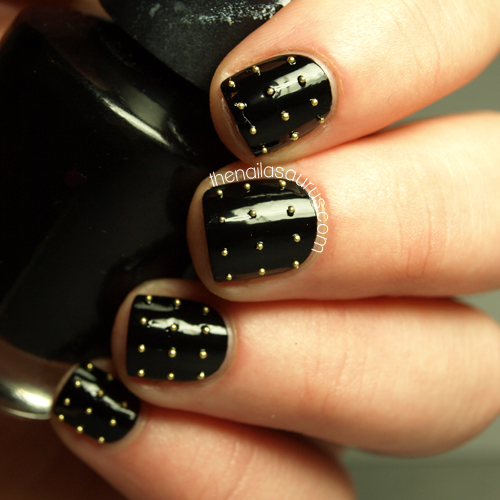 The Nailasaurus: Thnks Fr Th Mmrs: Studded Nails
