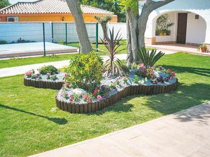 Piedras para un jard n bello aprende a decorar for Como decorar un jardin con piedras y plantas