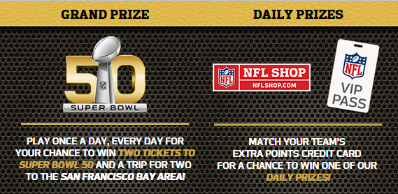 Coupons And Freebies: NFL Shop Gift Card Instant Win Giveaway - 51 ...