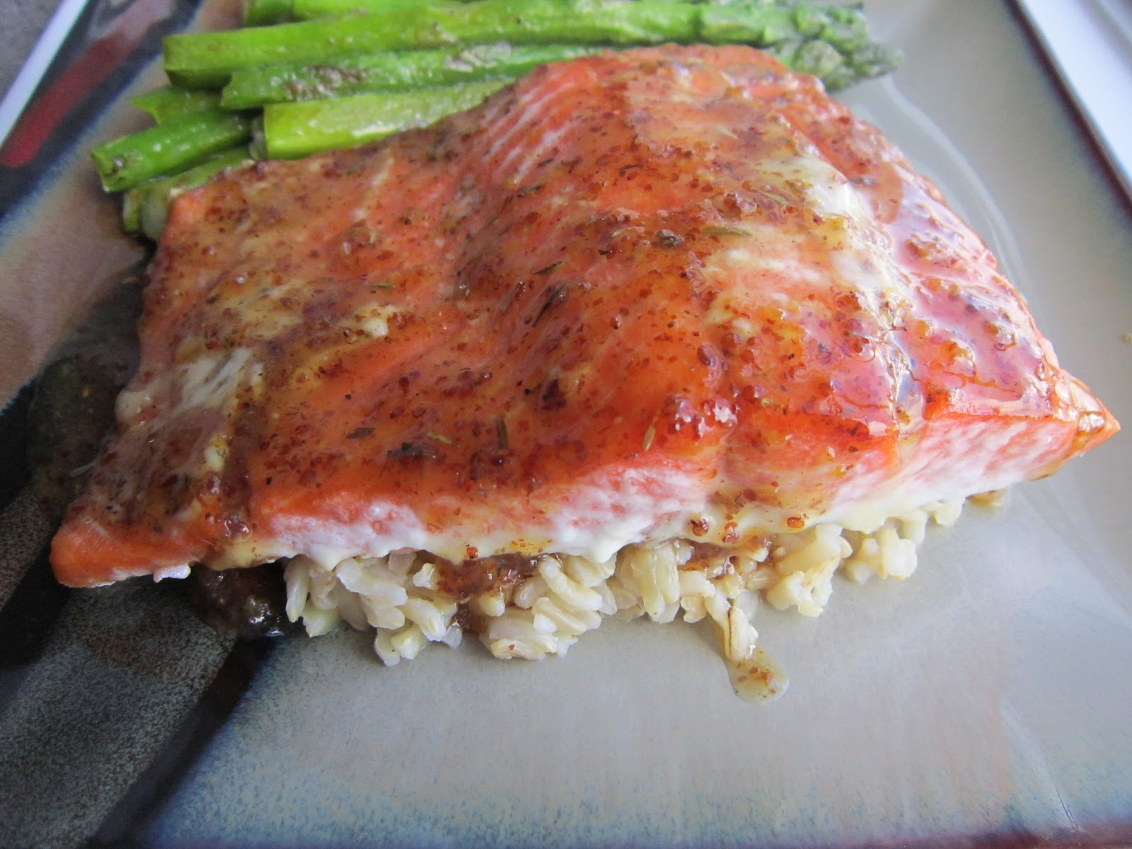 Maple-Mustard Grilled Salmon Recipes — Dishmaps