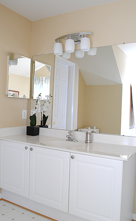 Best paint colors master bathroom reveal the graphics for What paint is best for bathrooms