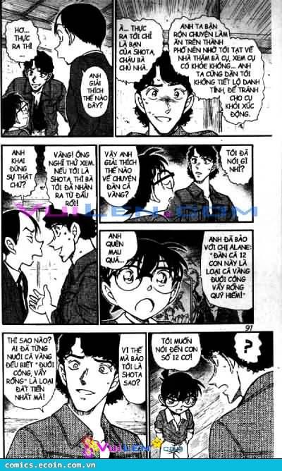 Detective Conan - Thám Tử Lừng Danh Conan chap 581 page 7 - IZTruyenTranh.com
