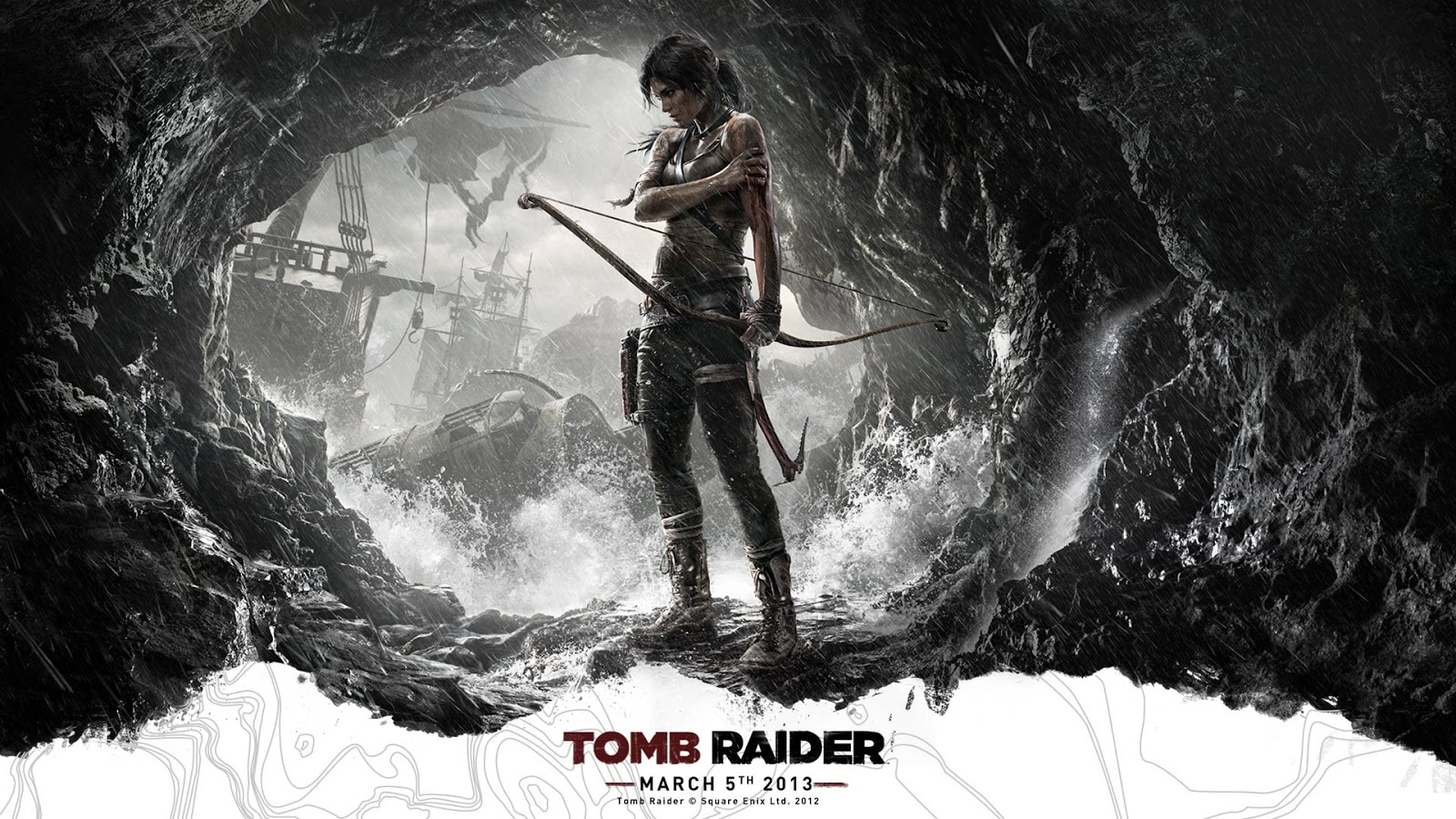 Tomb Raider HD & Widescreen Wallpaper 0.421052549868921