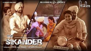 Sikander movie poster.