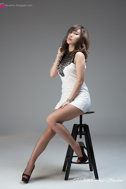 3 Im Min Young in White -Very cute asian girl - girlcute4u.blogspot.com